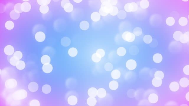 abstract clean blurred soft glitter dust tiny moving rising glitter bokeh particles soft loopable background - purple background stock videos & royalty-free footage