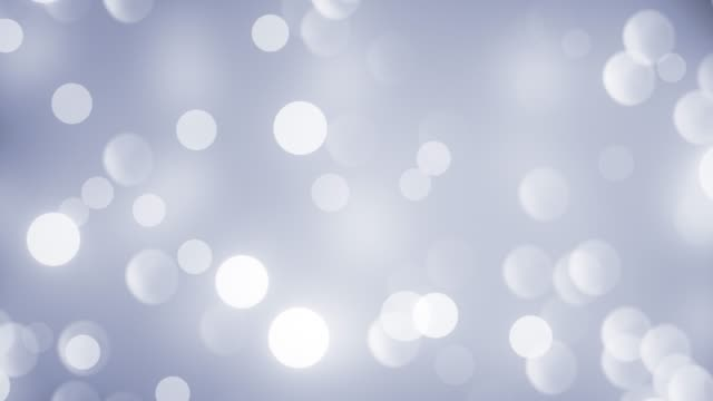abstract clean blurred soft glitter dust tiny moving rising glitter bokeh particles soft loopable background - grey colour stock videos & royalty-free footage