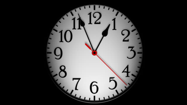 abstract clock time lapse - clock stock videos & royalty-free footage