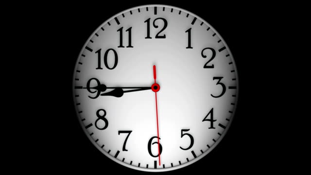 abstract clock - midnight stock videos and b-roll footage