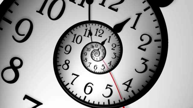 abstract clock - clock hand stock videos and b-roll footage