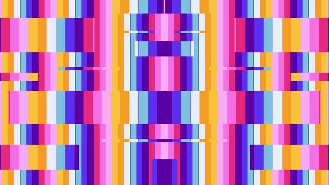 vídeos de stock, filmes e b-roll de looping de fundo colorido abstrato - rombo