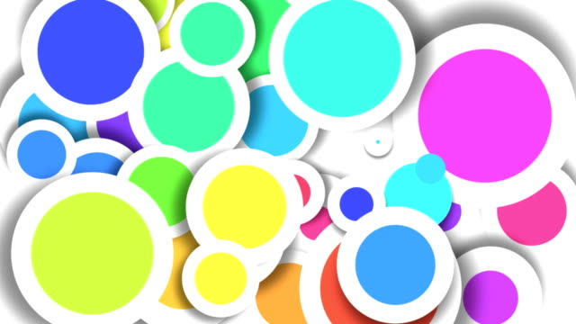 Abstract Colored Circles HD