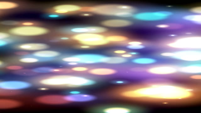 vidéos et rushes de abstract colored dots animation - frolow