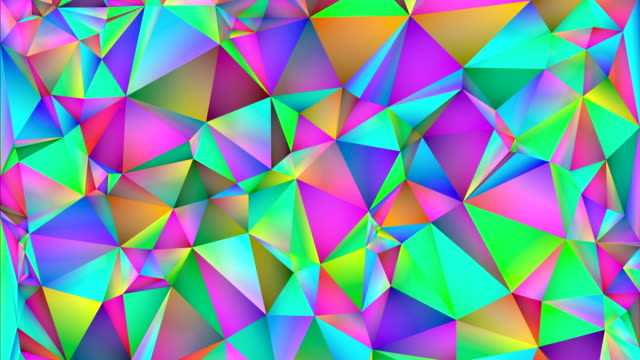 abstract colorful and geometric shapes changing colors. - prism stock videos & royalty-free footage