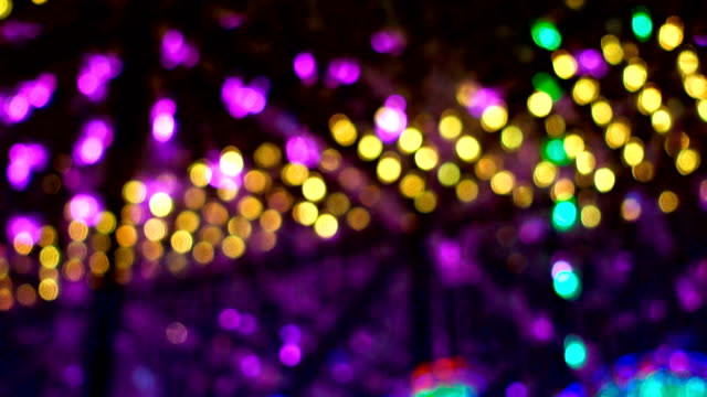 abstract colorful lights - new orleans mardi gras stock videos and b-roll footage