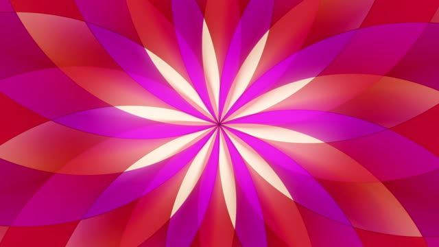 Abstract colorful psychedelic motion background