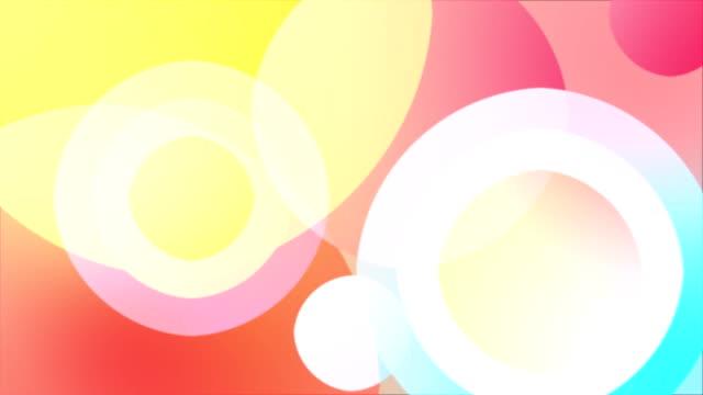 抽象的なカラフルな背景を形作る - パステルカラー点の映像素材/bロール