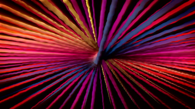 abstract colorful turning spiral motion background - twisted stock videos and b-roll footage