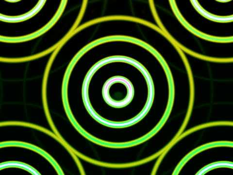 CGI, Abstract concentric pattern