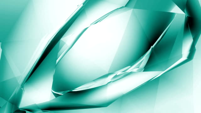 "abstract crystal ""eye"" - aqua - double refraction stock videos & royalty-free footage"