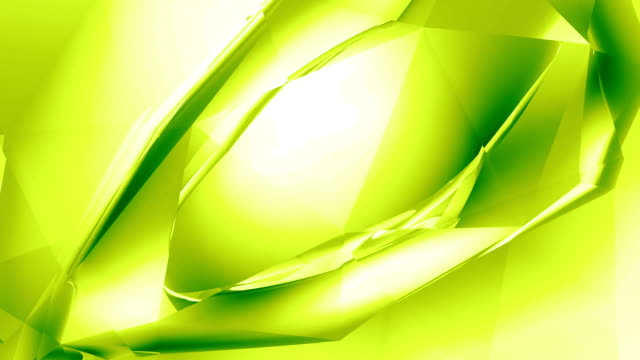 "abstract crystal ""eye"" - lime - double refraction stock videos & royalty-free footage"