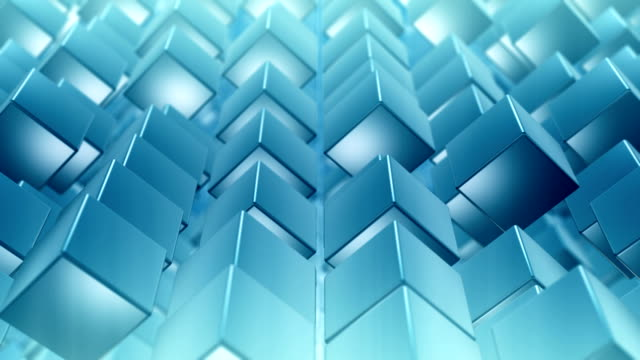 abstract cube background - loop - adobe after effects stock videos and b-roll footage