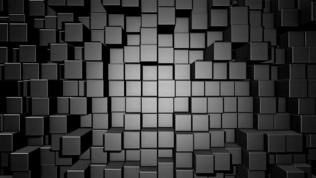 abstract cube background - cube stock videos and b-roll footage