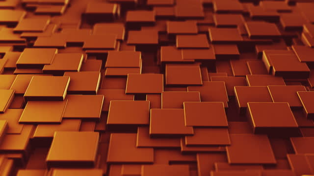 abstract cubes - rectangle stock videos & royalty-free footage