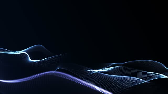 abstract curves (loopable) - light trail stock videos & royalty-free footage