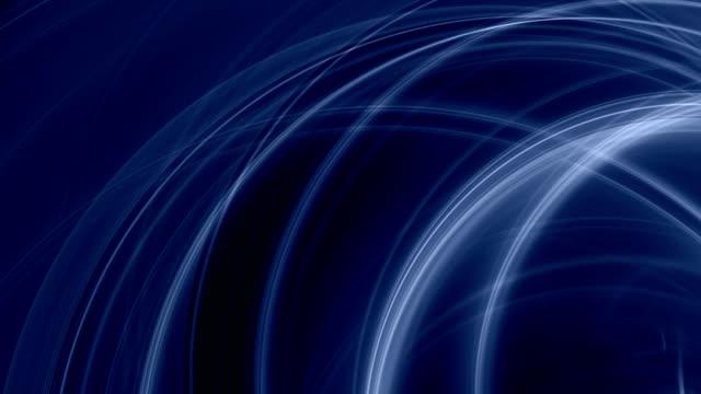 abstrakte formen (endlos wiederholbar - blauer hintergrund stock-videos und b-roll-filmmaterial