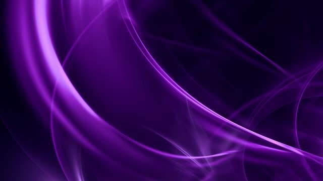 vídeos y material grabado en eventos de stock de abstract curvas (en bucle - fondo púrpura