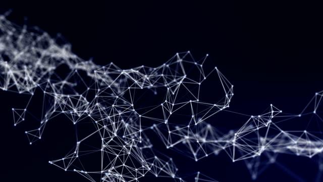 Abstrakta Data anslutningar bakgrund, teknik koncept