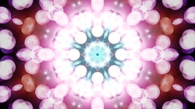 vídeos y material grabado en eventos de stock de decorativo bucle de fondo abstracto - diseño floral