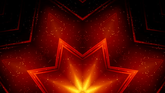 abstract decorative background loop - kaleidoscope pattern stock videos & royalty-free footage