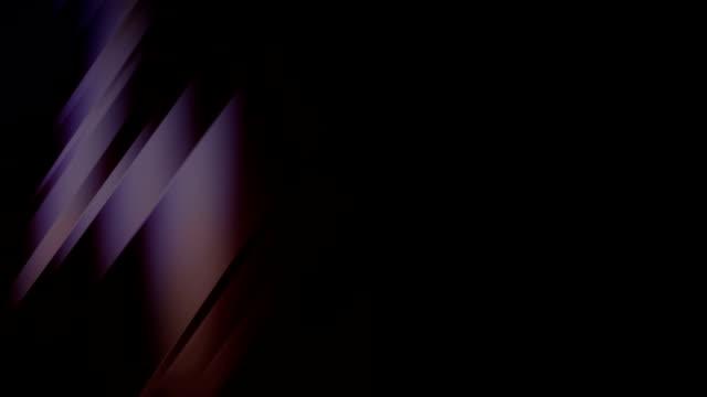vídeos de stock e filmes b-roll de abstract defocused glossy light background - fuga de luz