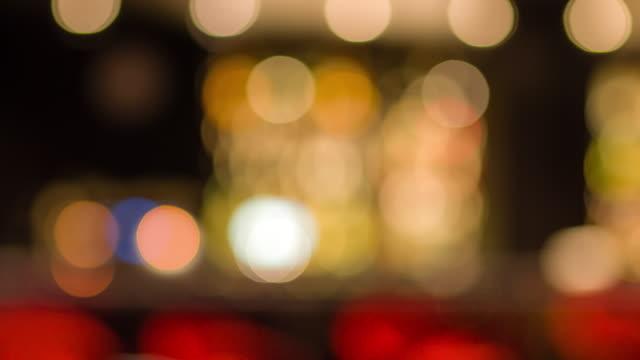Abstrakte Defocuss Licht