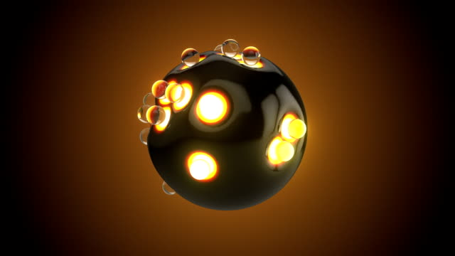 abstract deformed sphere - sphere stock videos and b-roll footage