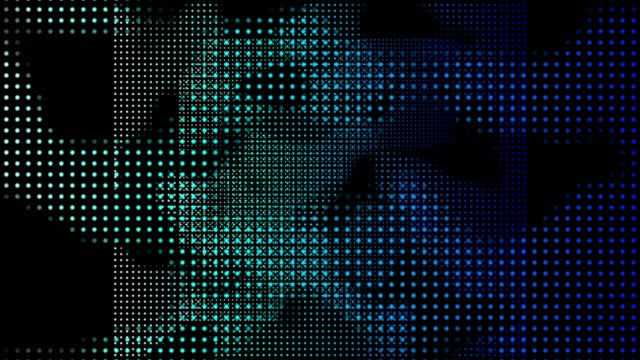 4k abstract digital background animation loopable elements, digital wave particles form concept - curve stock videos & royalty-free footage