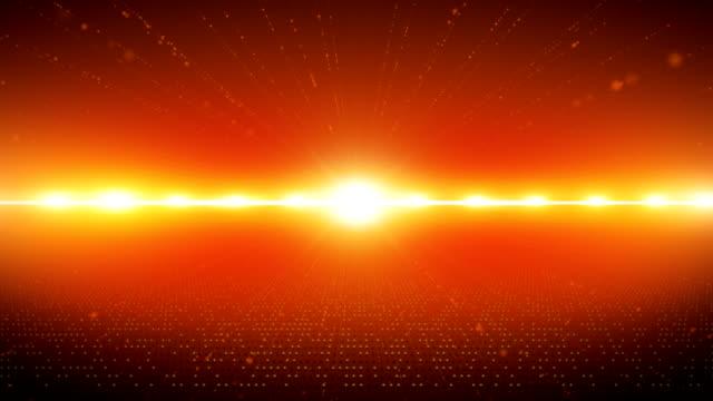 abstrakt digitaler kommunikation - orange stock-videos und b-roll-filmmaterial
