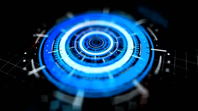 abstract digital cyber space motion background - control room stock videos and b-roll footage