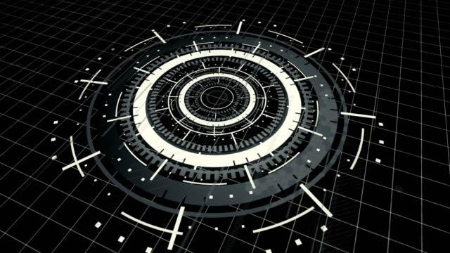 abstrakter digitaler cyberspace-motion-hintergrund - interaktivität stock-videos und b-roll-filmmaterial