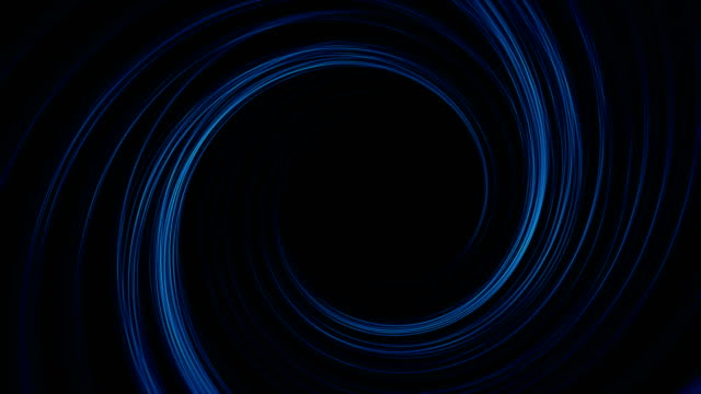 abstract digital cyber tunnel background - swirl pattern stock videos & royalty-free footage