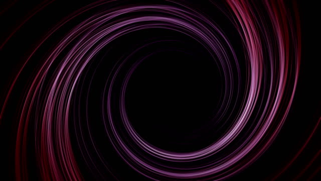 Abstract digital cyber tunnel background