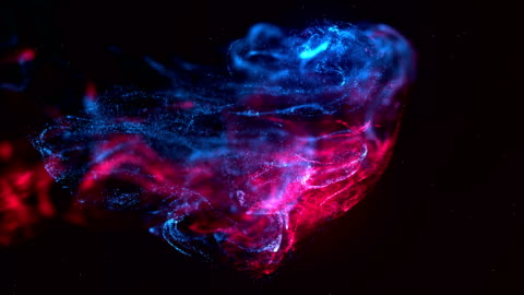 abstract digital energy slow motion particle background - stock video - plasma ball stock videos & royalty-free footage