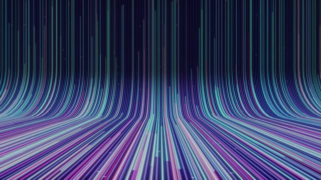 abstract digital optic fiber cyberspace lines motion background - health technology stock videos & royalty-free footage