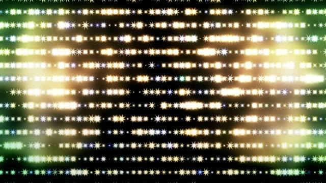 abstract disco light wall loop