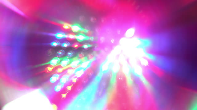 abstract disco lights strobes - strobe light stock videos & royalty-free footage