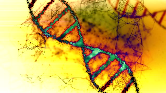 abstract dna. - chromosome stock videos and b-roll footage