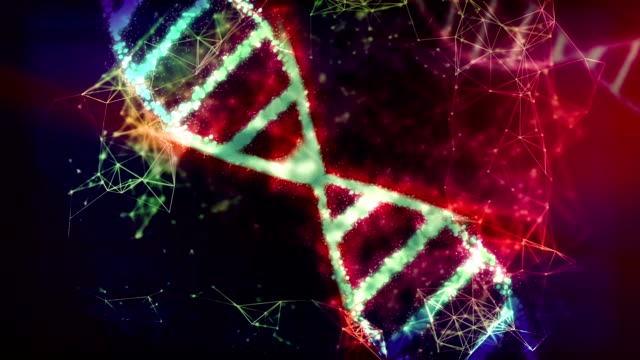 abstract dna. - dna test stock videos and b-roll footage