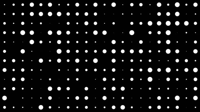 Abstract dot pattern