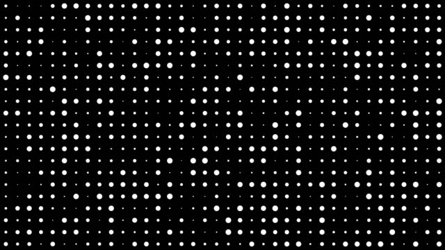 abstract dot pattern - black and white stock videos & royalty-free footage