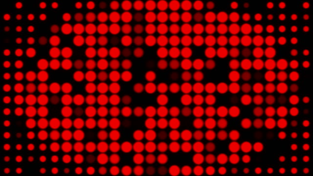 abstract dots background / loopable - blinking stock videos & royalty-free footage