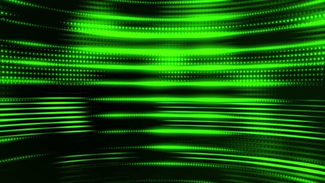 vídeos de stock, filmes e b-roll de fundo de dosts abstrato (loopable) - luz de led