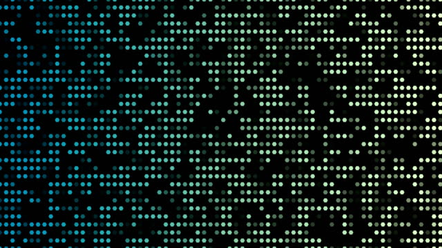 abstract dotted backgroud - sfondo multicolore video stock e b–roll