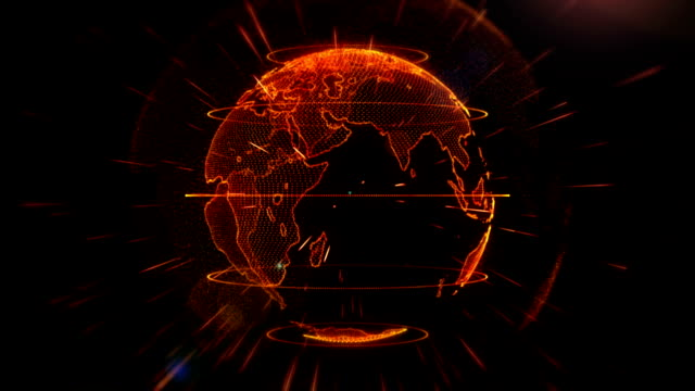 abstract earth animation background - strategy stock videos & royalty-free footage