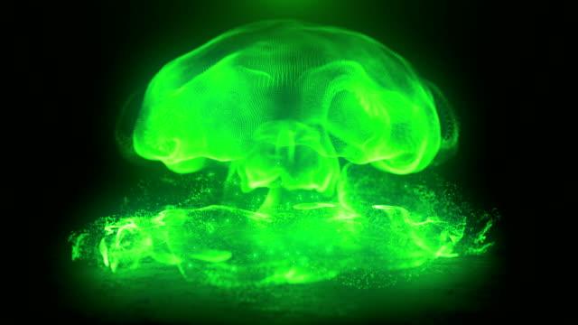 abstrakta elektriska bågar i extrem rörelse energi eller plasmaboll - paranormal bildbanksvideor och videomaterial från bakom kulisserna