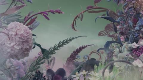 abstract fairy garden - fantasy stock videos & royalty-free footage