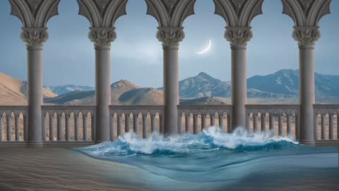 abstract fairy tale background - architectural column stock videos & royalty-free footage