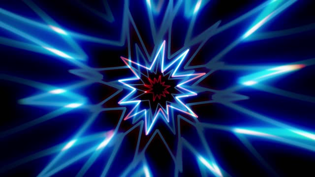 abstract fiber optic glowing star shapes background spinning loopable, beatiful vj, dj light show,   the concepts of vortex, tunnel, game, internet, data, party, nightclub, fashion glow, virtual reality, lazer, lighting show - game show stock videos & royalty-free footage